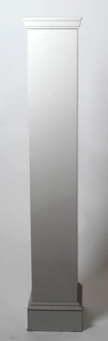 Tall Painted Wooden Pedestal