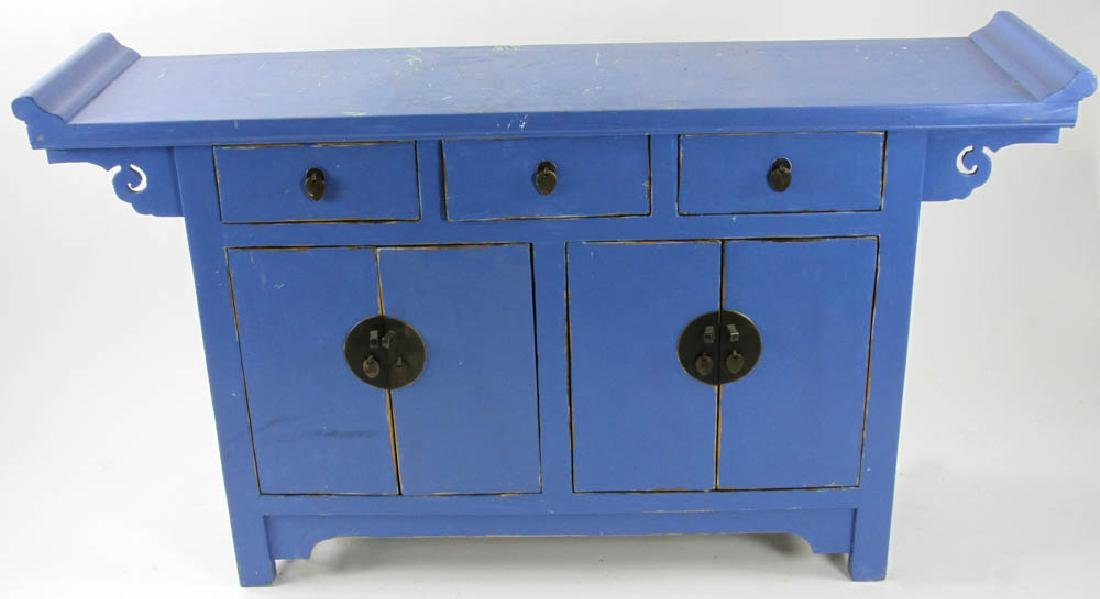 Painted Chinese Style Sideboard