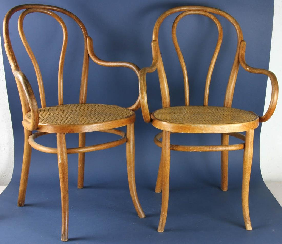 Pair of Bentwood Armchairs