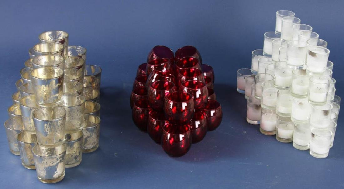 Grouping of Votive Candle Holders
