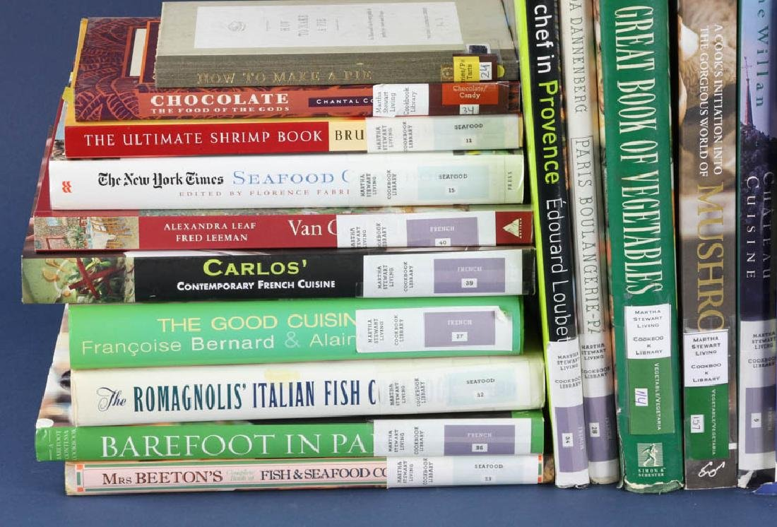 Cookbooks from Martha Stewart Library - 4