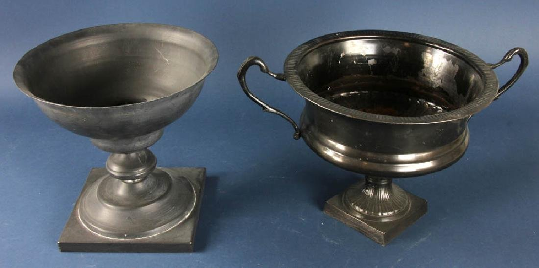 Two Metal Urns - 2