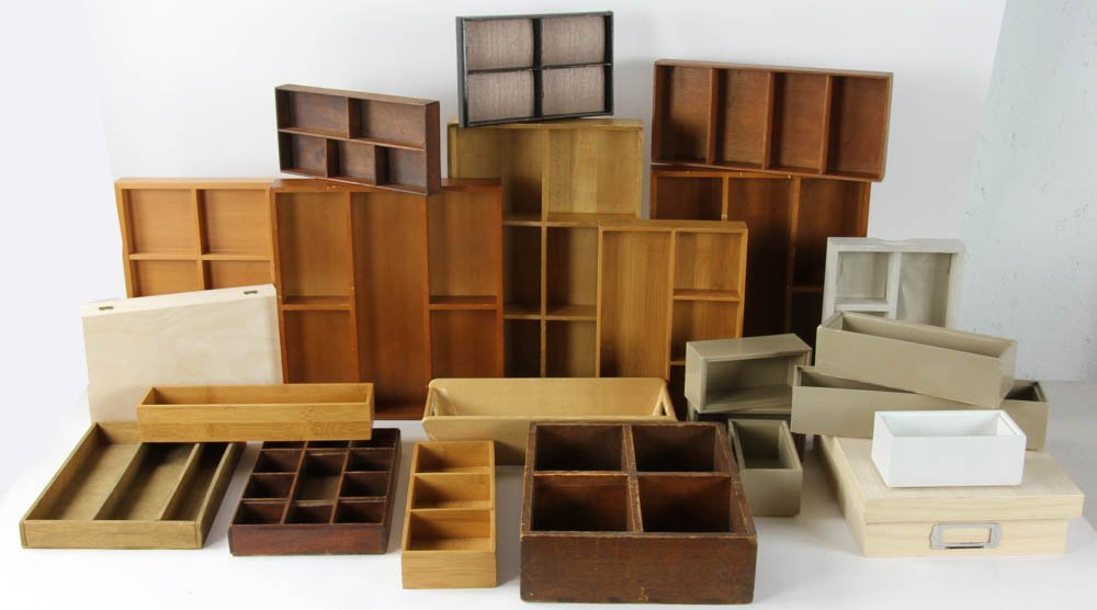 Large Group of Organizational Boxes