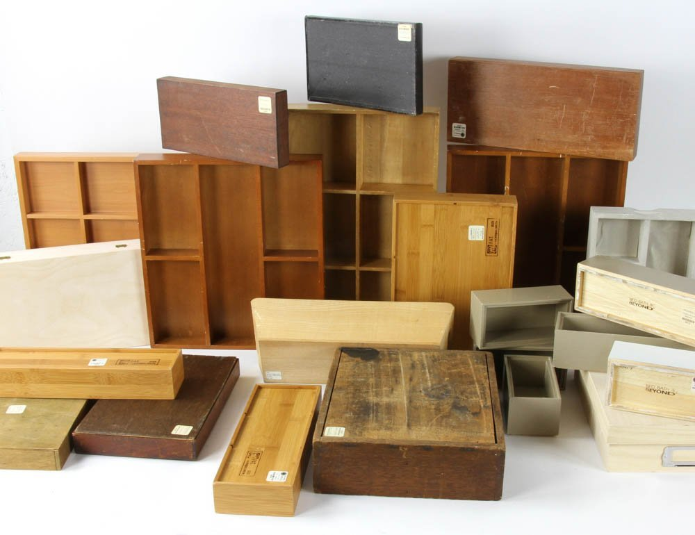 Large Group of Organizational Boxes - 2
