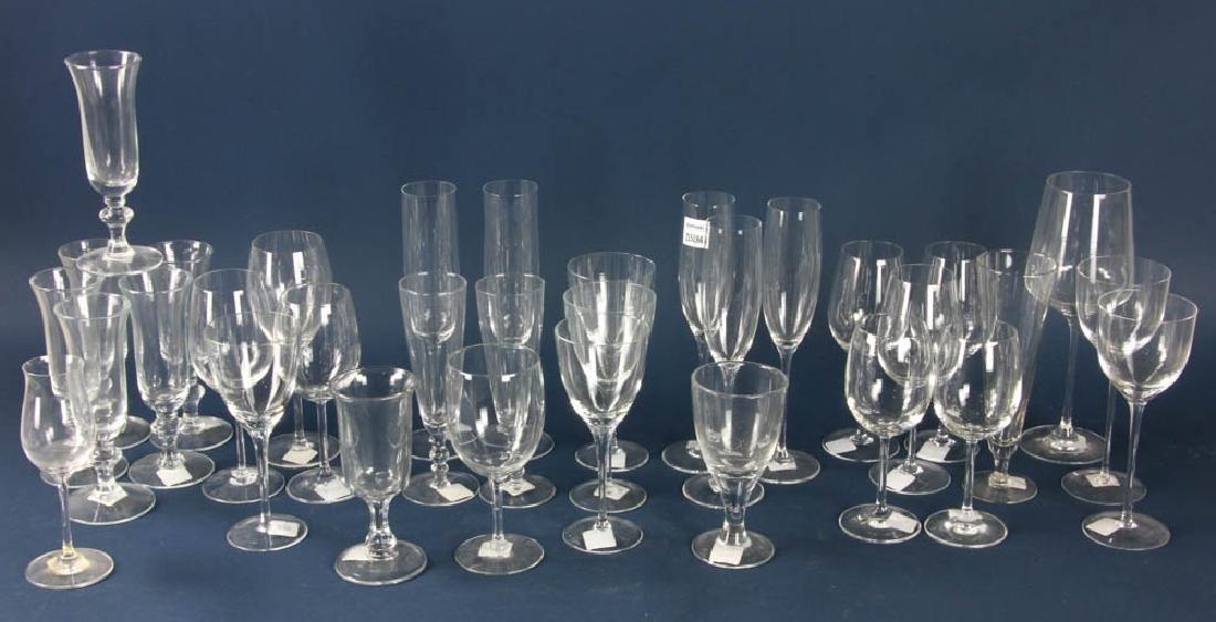 Colorless Glass Stemware