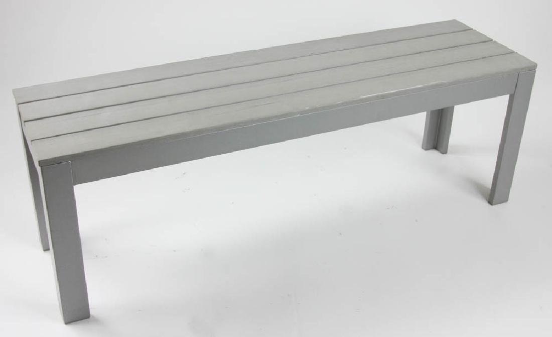 Contemporary Bench