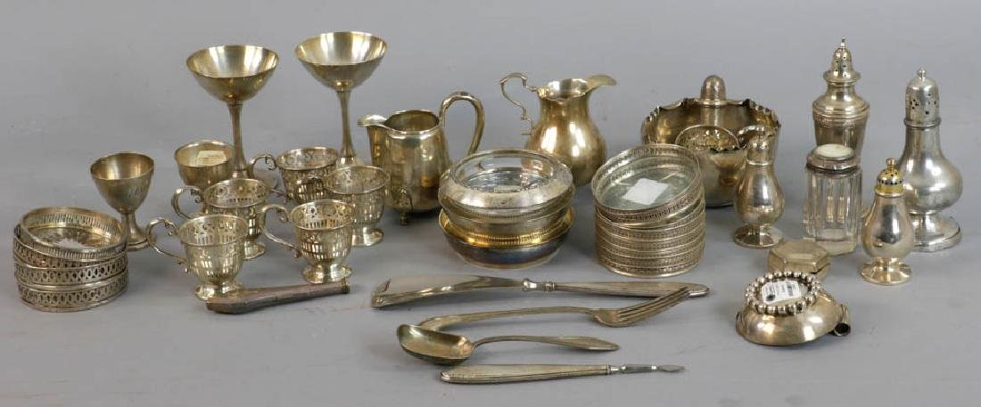 Group of Assorted Sterling Silver Items
