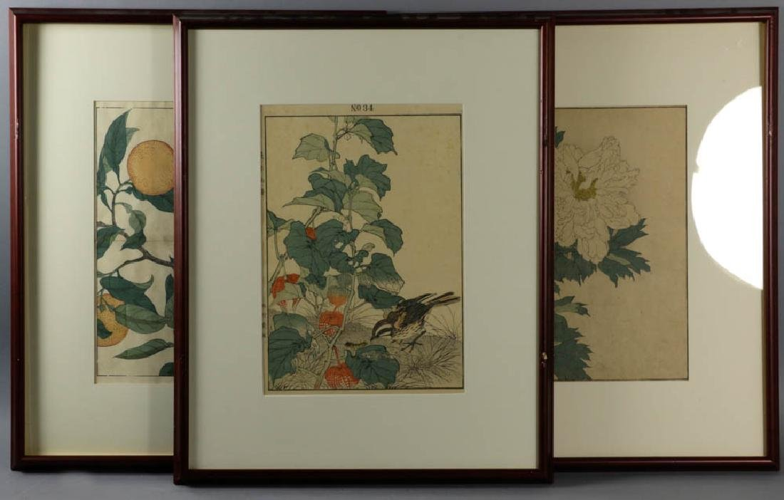 Antique Asian Woodblock Prints
