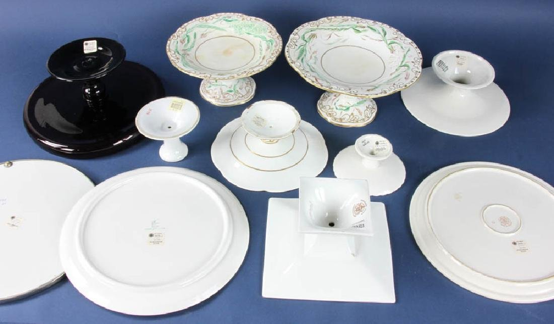 Group of Ten Cake Stands - 2
