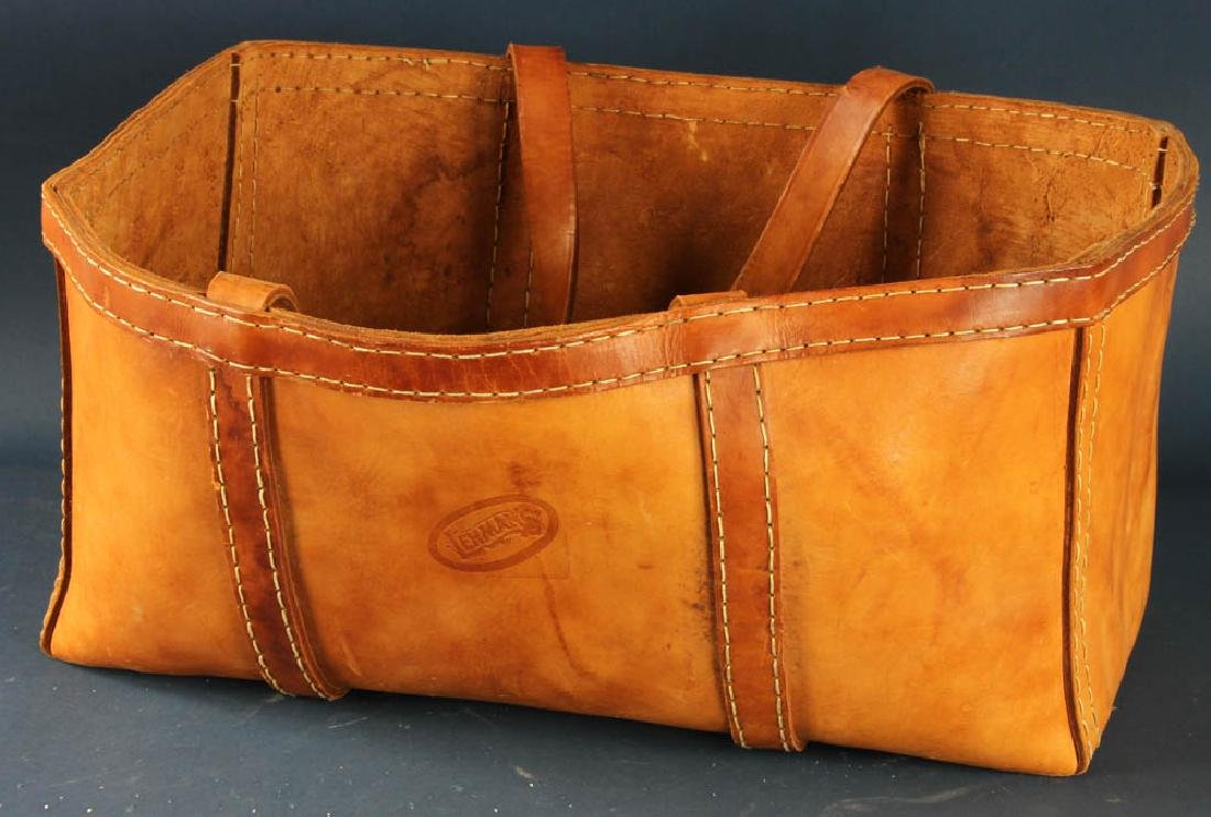 Leather Log Tote