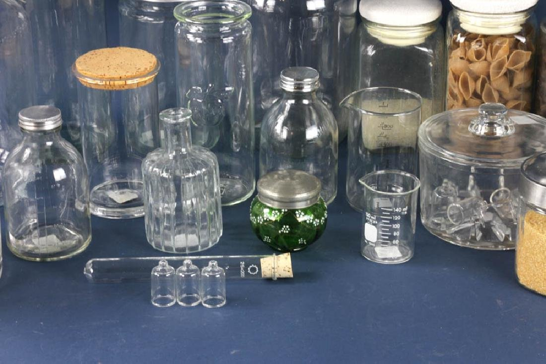 Assorted Apothecary Jars, Measures - 3