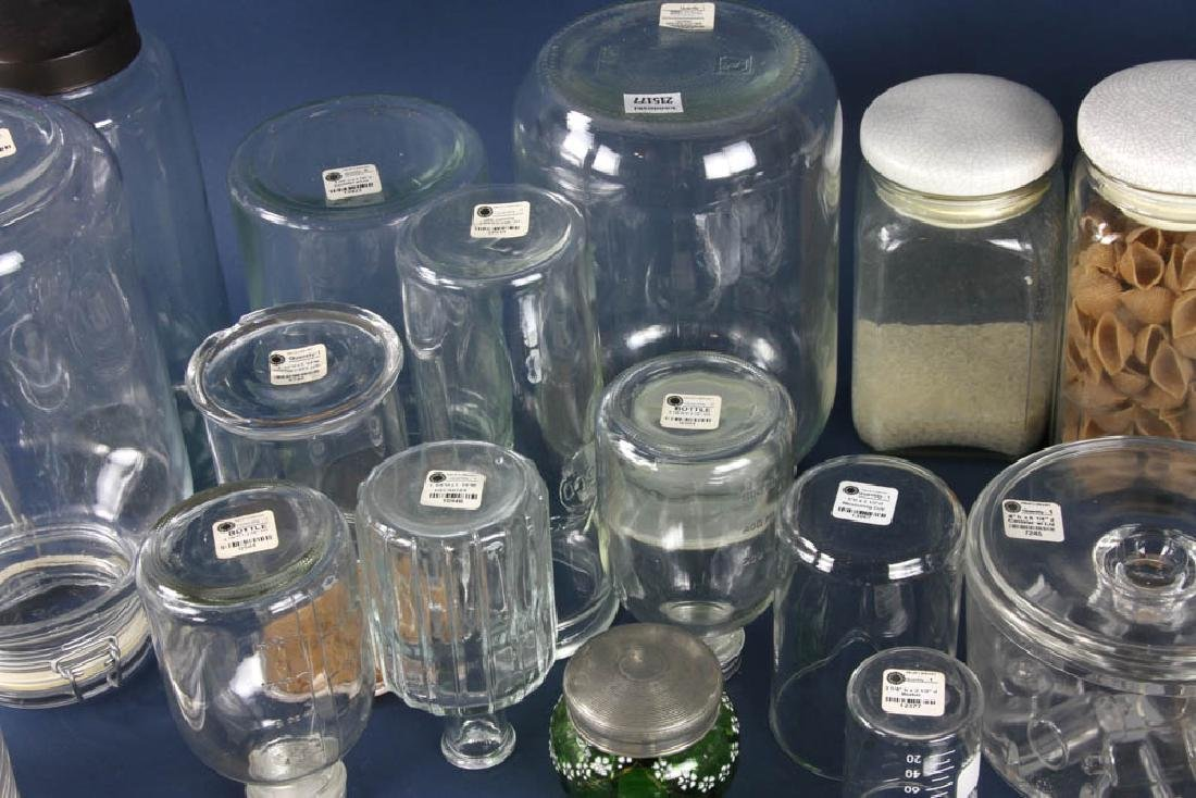 Assorted Apothecary Jars, Measures - 4