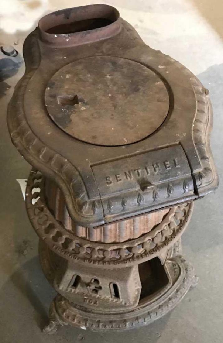 Antique Sentinel Cast Iron Stove
