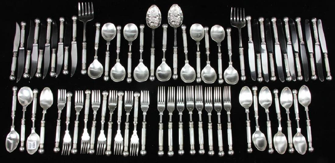 English Sheffield Mother-of-Pearl Flatware