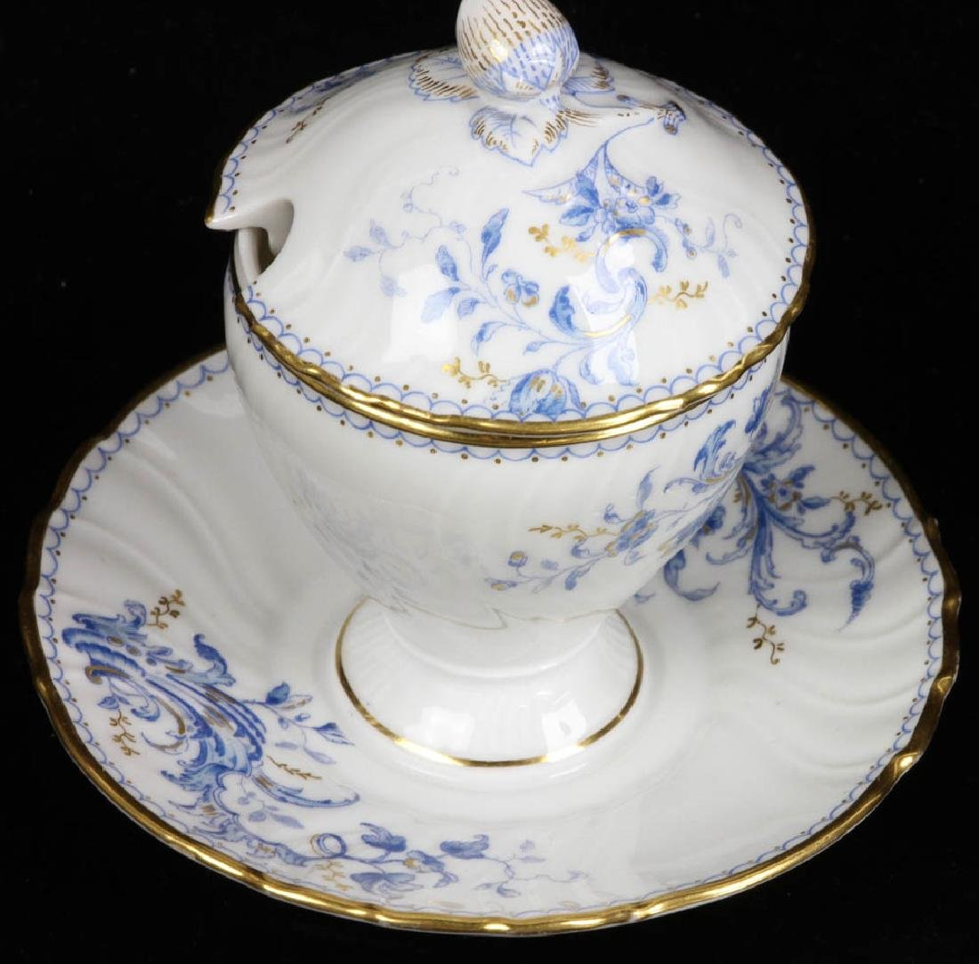 Fine French Porcelain Fish Service - 3