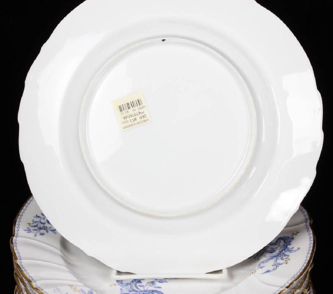 Fine French Porcelain Fish Service - 4
