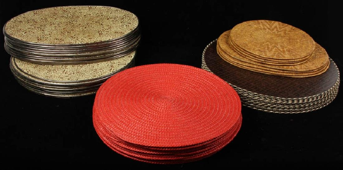 Group of Assorted Placemats