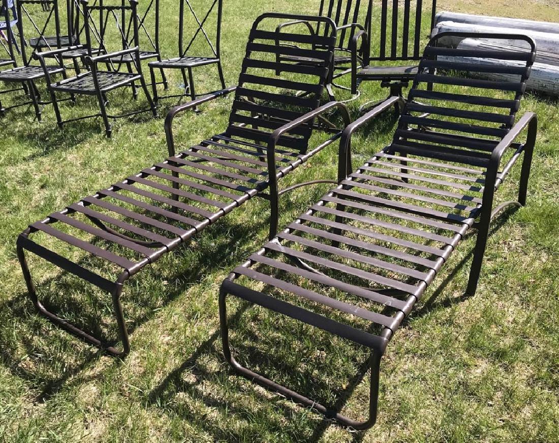 Pair of Brown Jordan Lounge Chairs