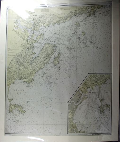 2016: Us Geodetic Survey, Salem & Lynn, Lithograph