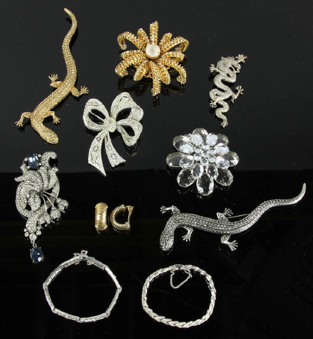 Ten Pieces of Costume Jewelry - 2