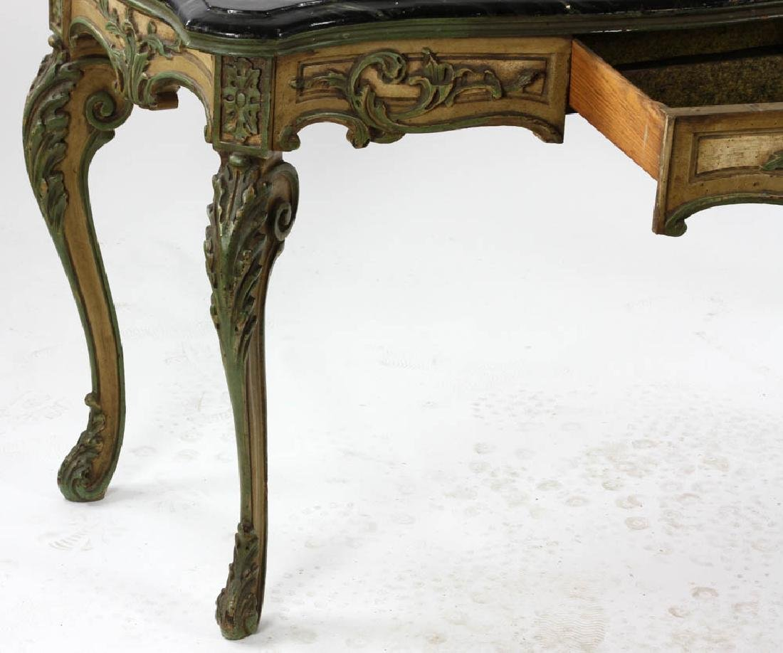 Faux Decorated Console Table - 3