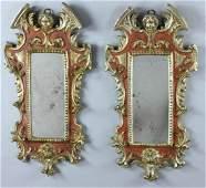 Italian Venetian Pair of Mirrors
