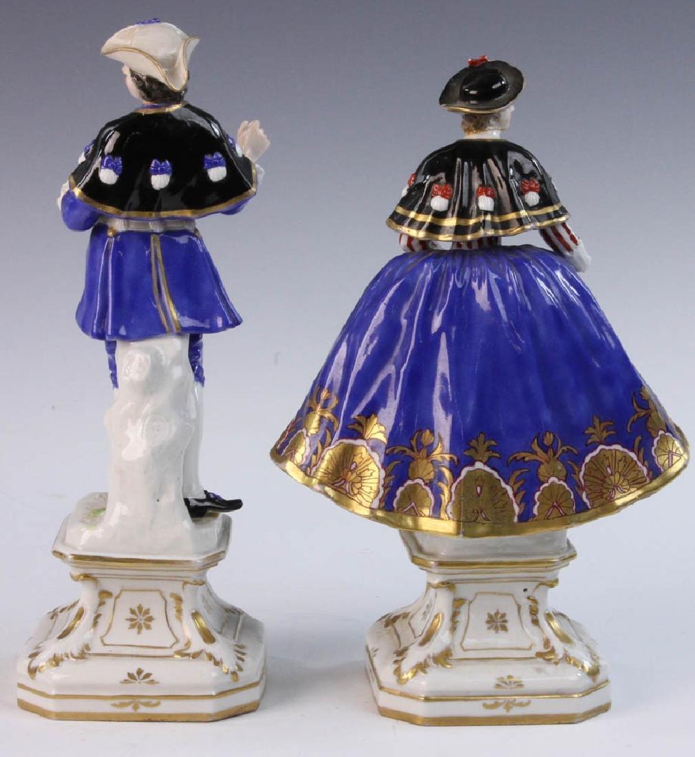 Pair of German Porcelain Figures - 4