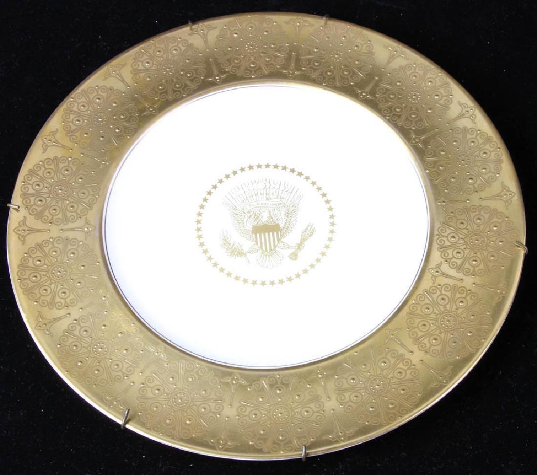 Original Eisenhower White House Dinner Plate