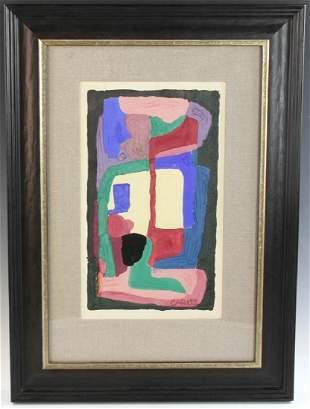 Arthur Beecher Carles Acrylic