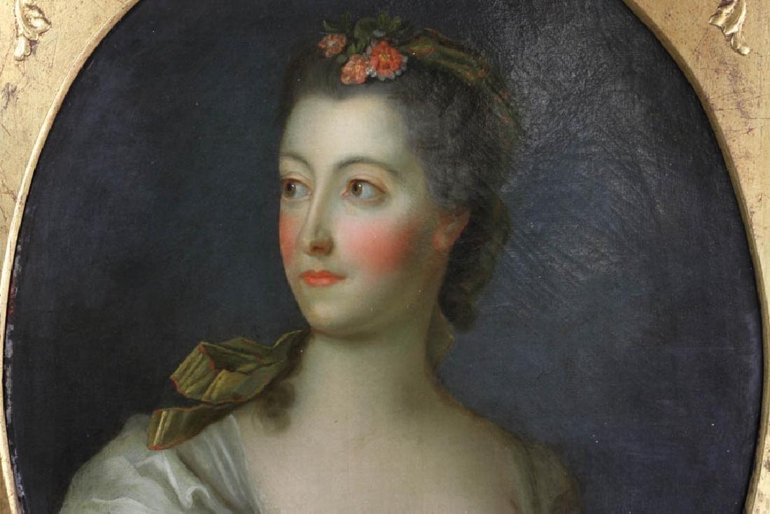 Jean-Marc Nattier Portrait Oil on Canvas - 3