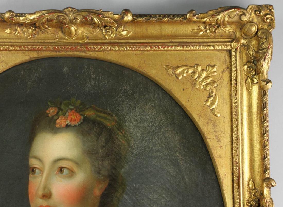 Jean-Marc Nattier Portrait Oil on Canvas - 6