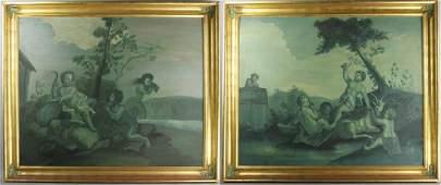 Two Decorative Italian Paintings