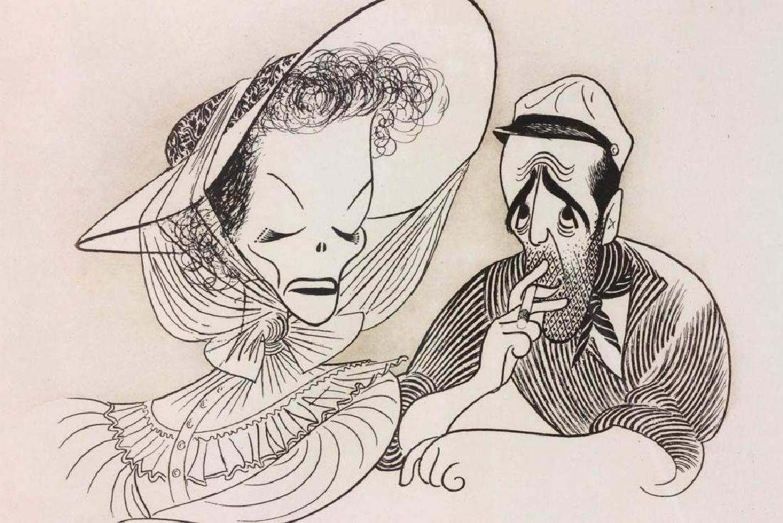 Hirschfeld Signed Casablanca Print - 5