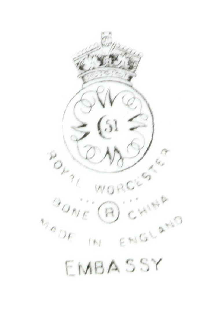 Royal Worcester Embassy Pattern Plates - 5
