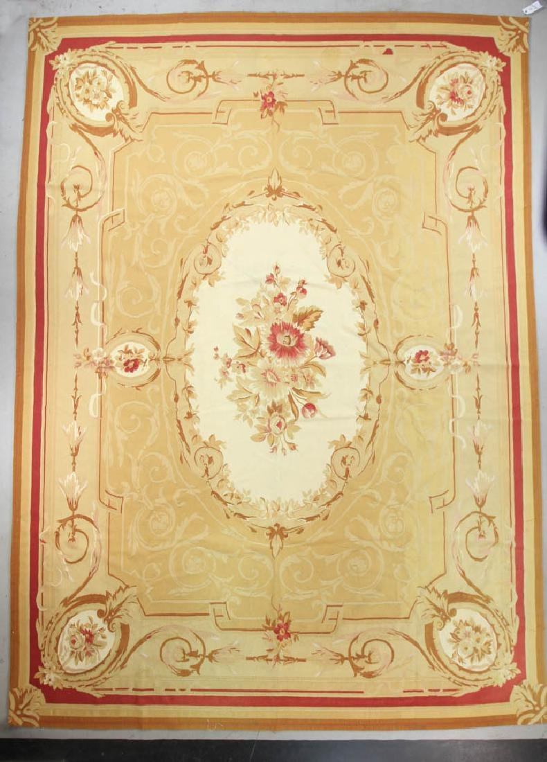 French Aubusson Design Rug