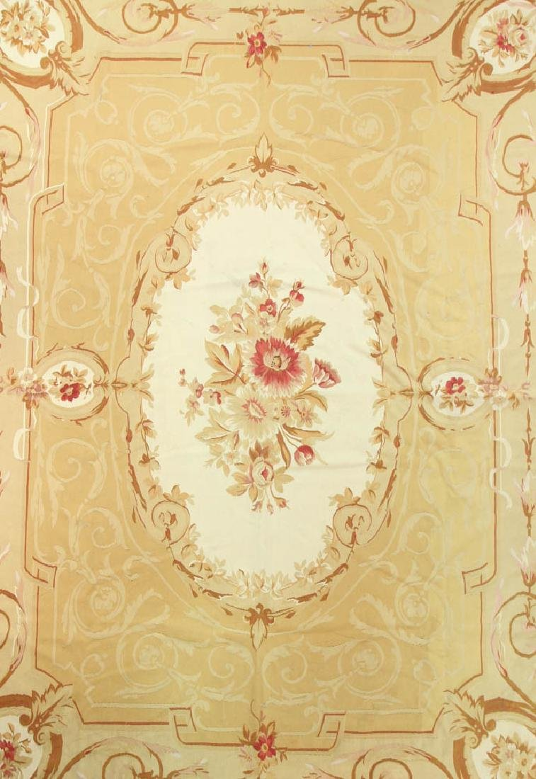 French Aubusson Design Rug - 2