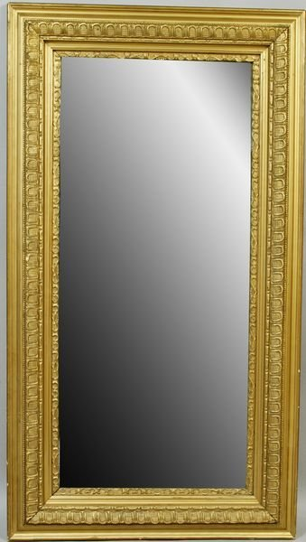 3008: 19th Century American Beveled Glass Mirror