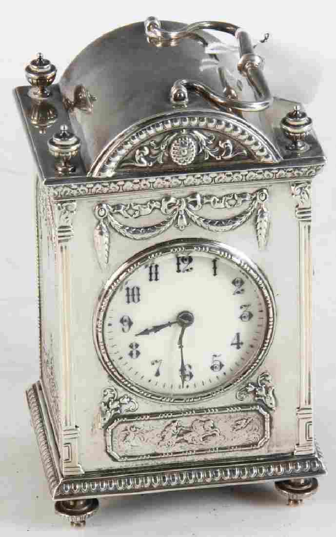 Gorham Sterling Carriage Clock