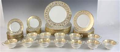 Wedgwood Florentine Gold Service for 12