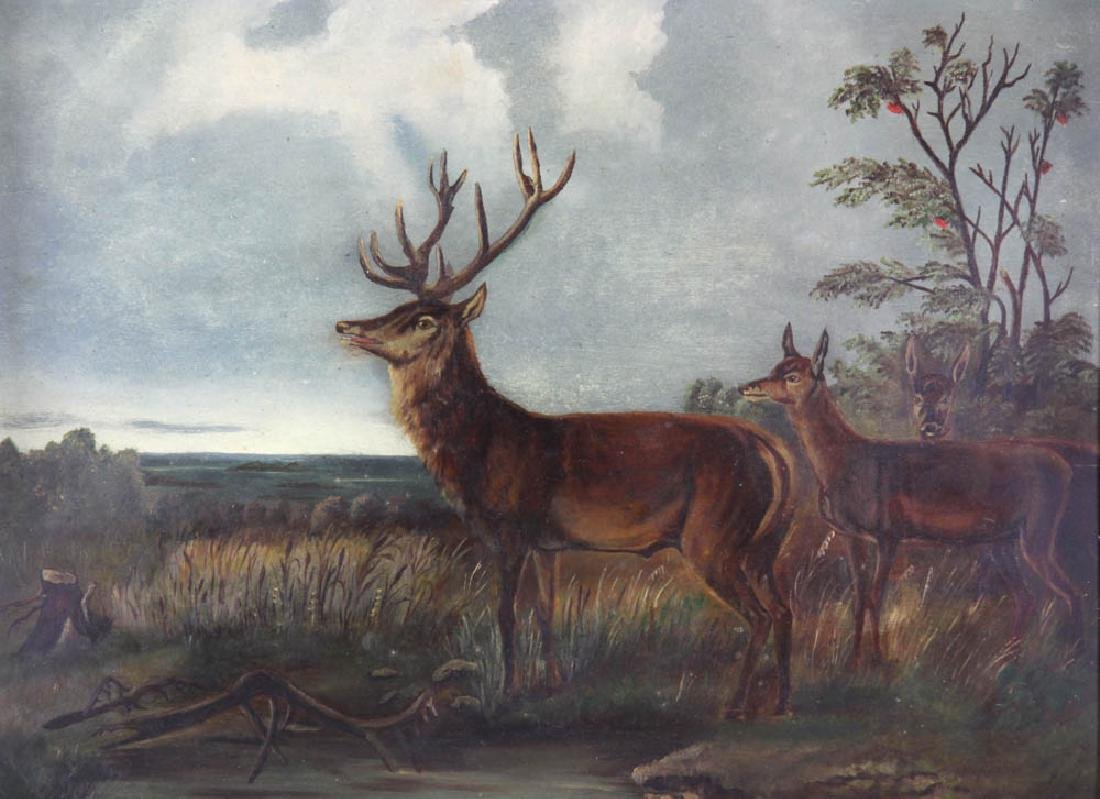 American School, Deer in Landscape - 2