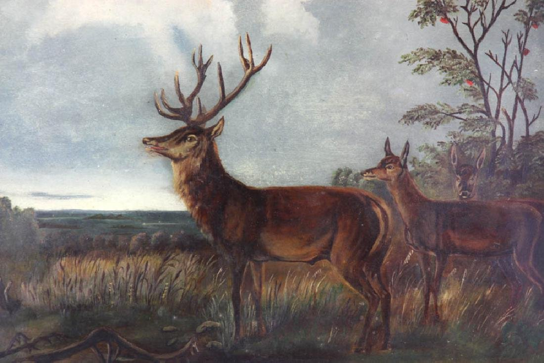 American School, Deer in Landscape - 3