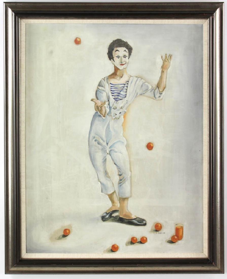 E. Bunin Oil on Canvas
