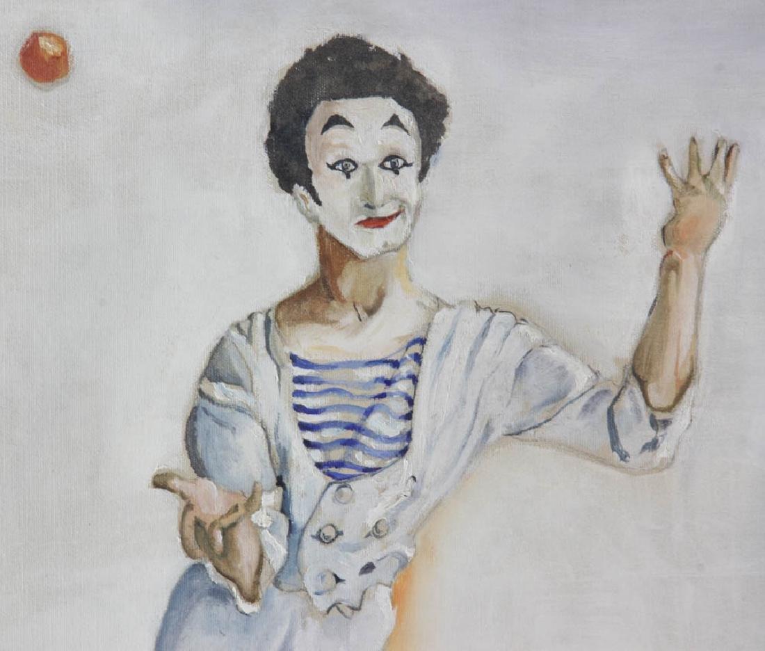 E. Bunin Oil on Canvas - 4
