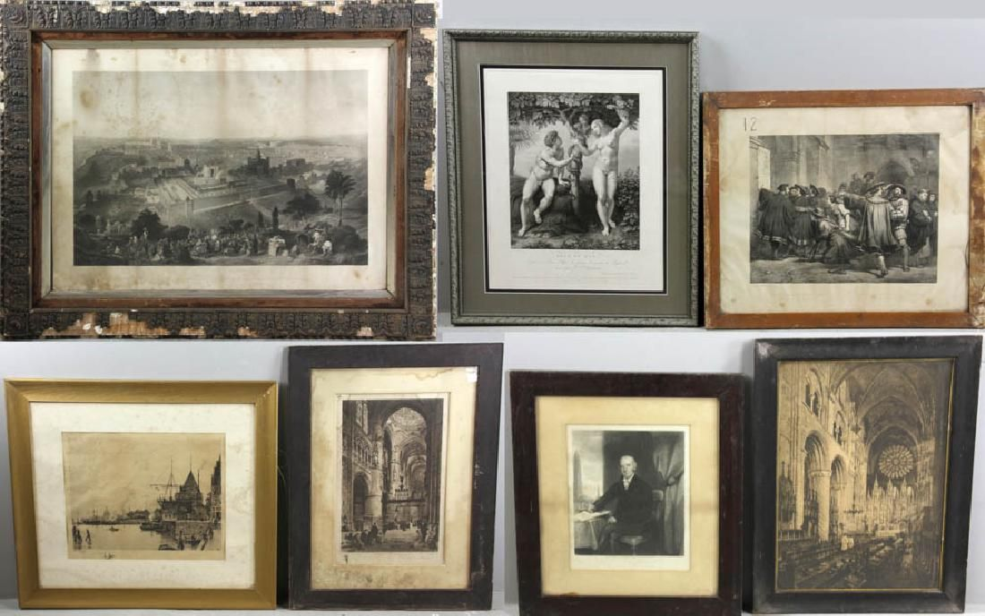 Group of Etchings and Engravings