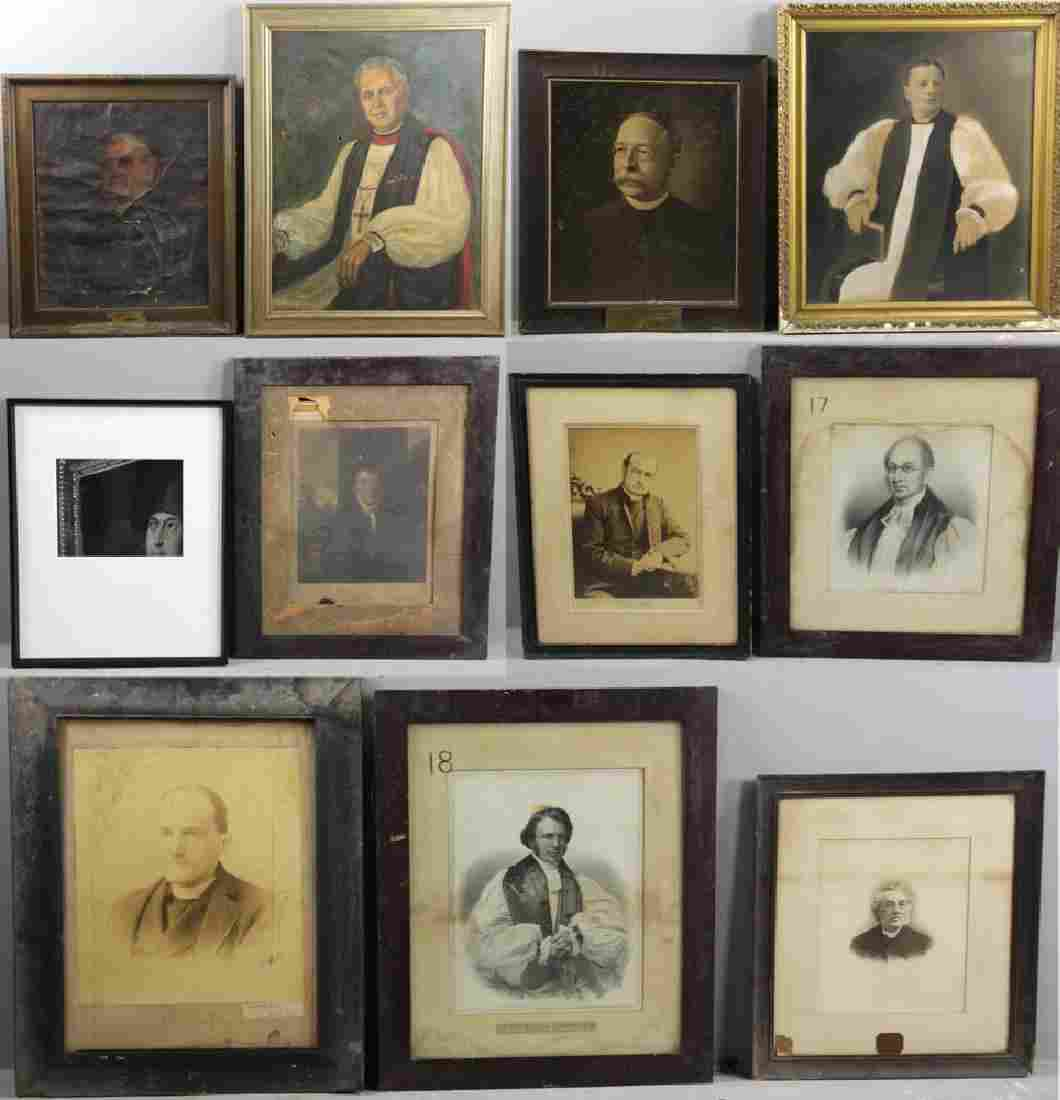 Collection of Eleven Ecclesiastical Portraits