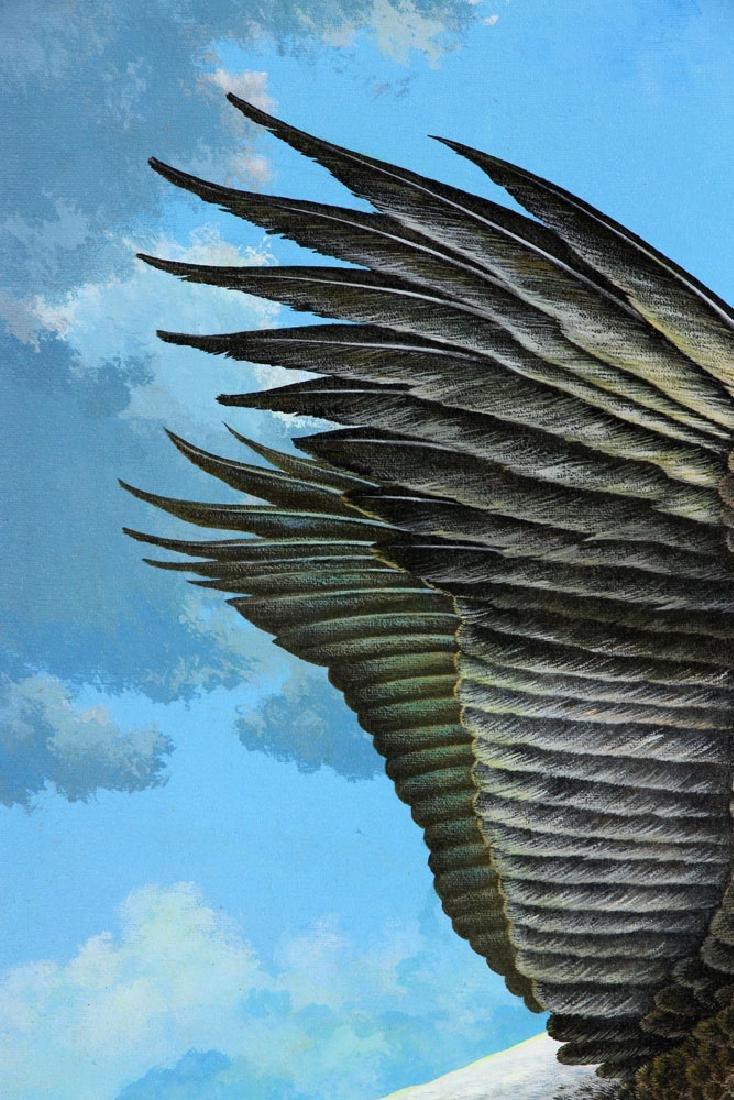 Bennett, Eagle Over St. James River, Oil - 5