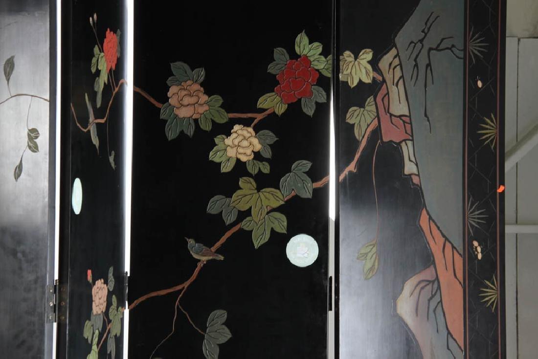 Eight Panel Chinese Screen - 8