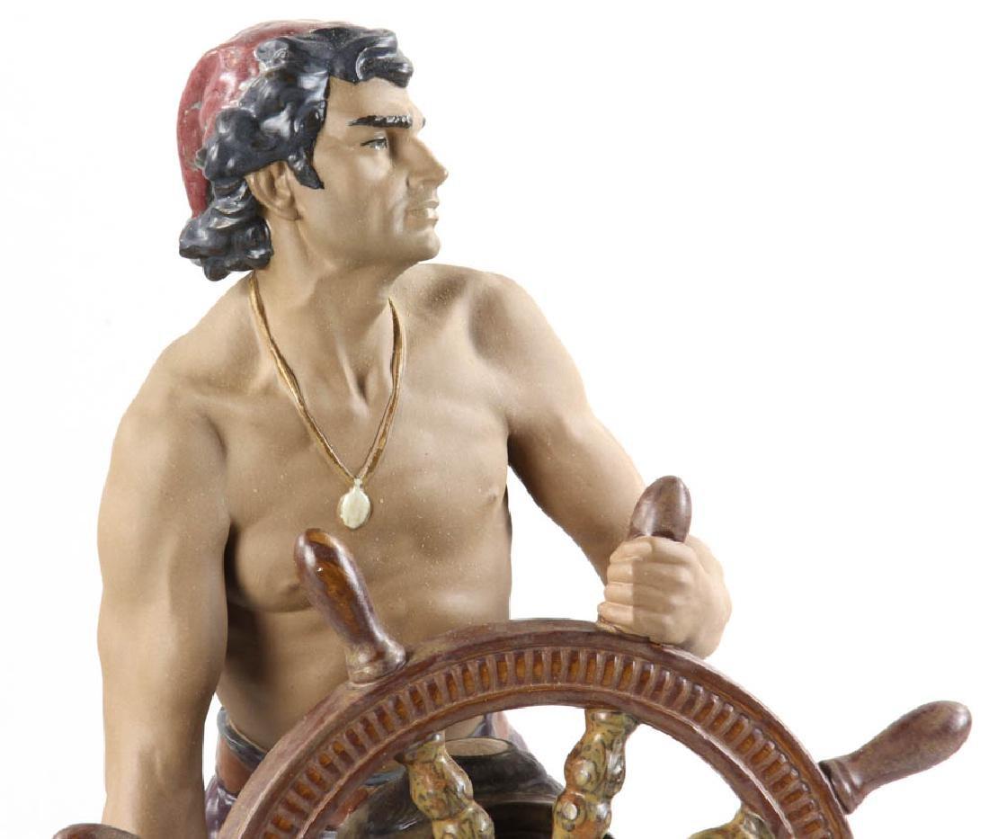 Lladro Figurine Stormy Sea Sailor - 2