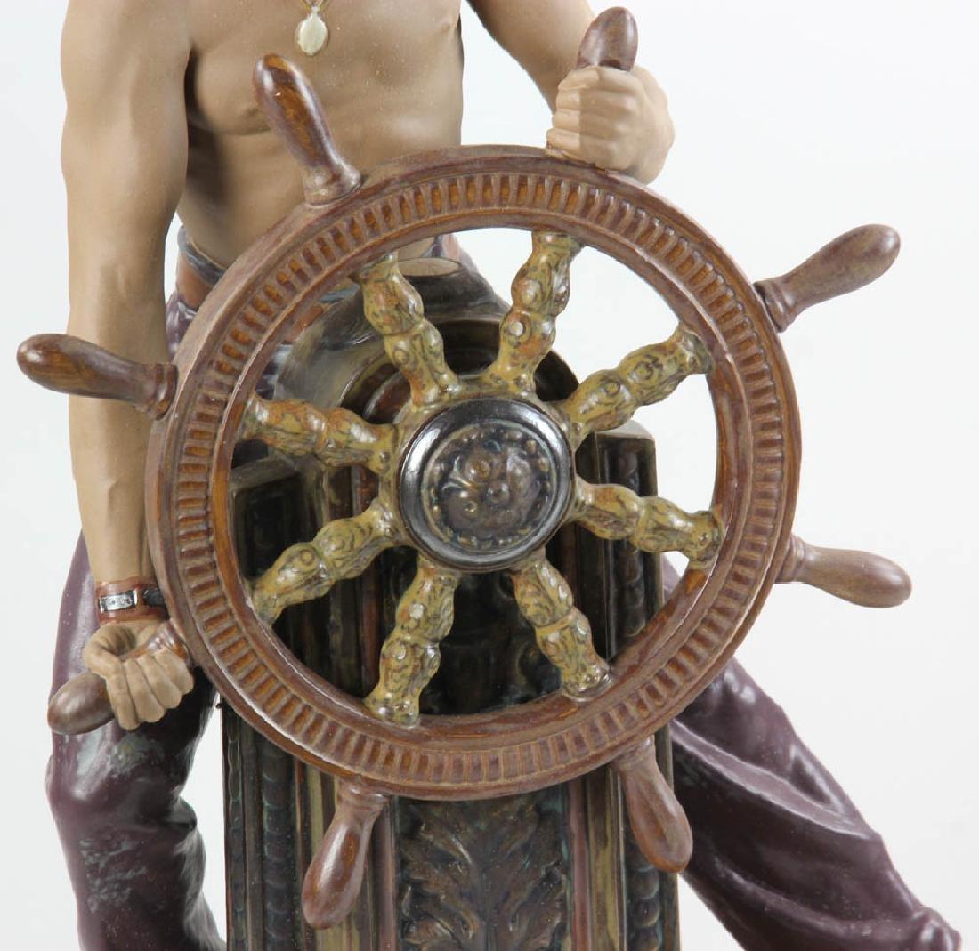 Lladro Figurine Stormy Sea Sailor - 3