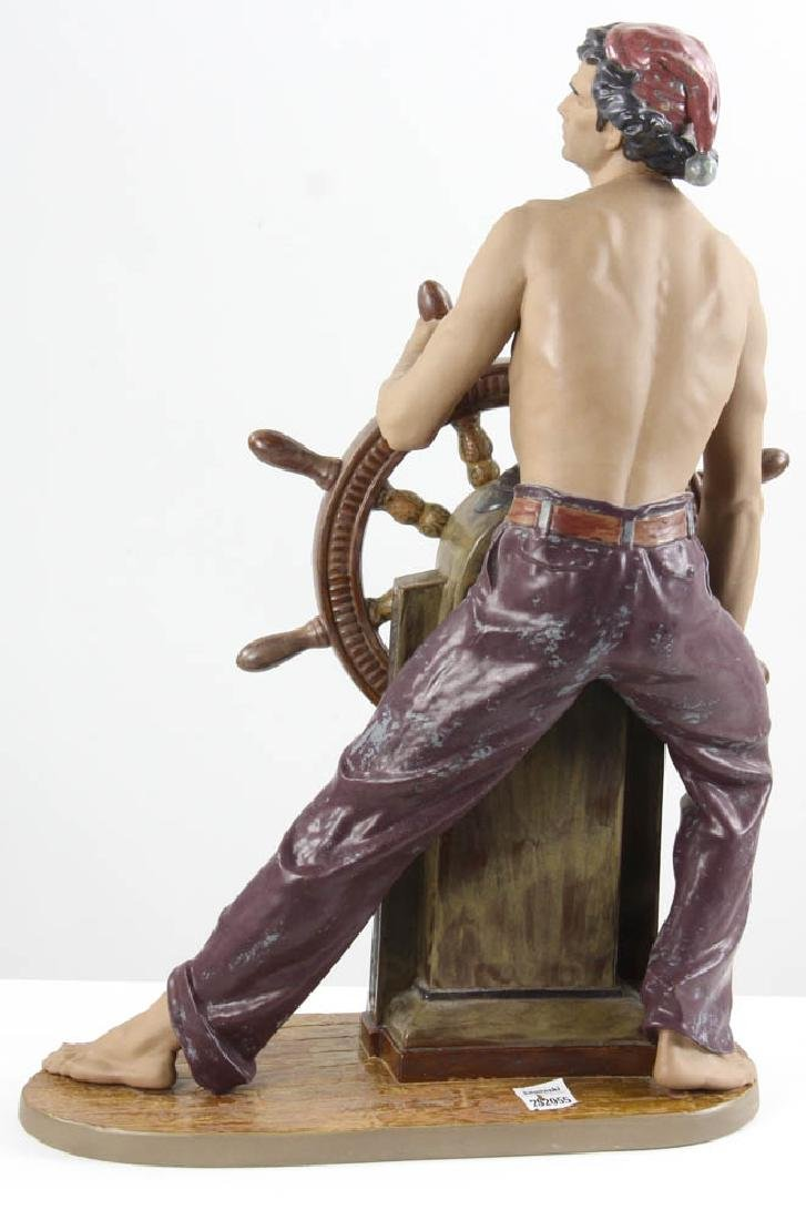 Lladro Figurine Stormy Sea Sailor - 6